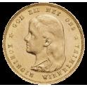 10 Florins OR - Wilhelmina Jeune