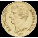 20F OR - Napoléon Empereur tête nue - an XII