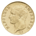 20F OR - Napoléon Ier tête nue